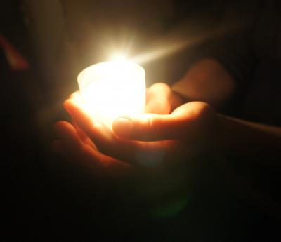Phyllis Tuckwell Light up a Life service