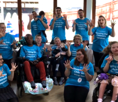 Friendly Hands – Musical treat from Christopher's Hospice