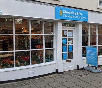 Shooting Star Children's Hospices Guildford shop is now open