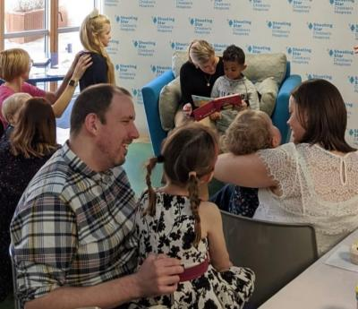 Royal Visit to Shooting Star Children's Hospices